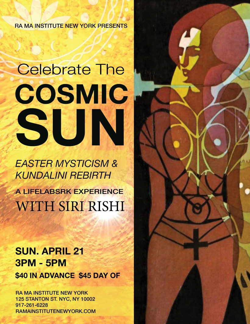 EASTER MYSTICISM with Siri Rishi