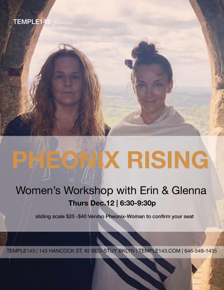 pheonix women wkshp 1