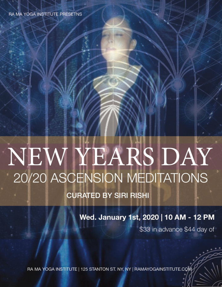 2020 ASCENSION MEDITATIONS WITH SRK