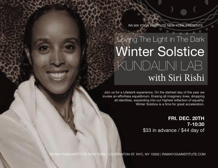 WINTER SOLSTICE with SRK 2